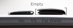 aki vs fat wallet