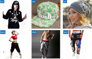 hip hop fashion wear