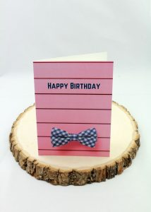 birthday card for men