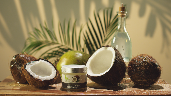 Coconut oil care products are all natural and effective