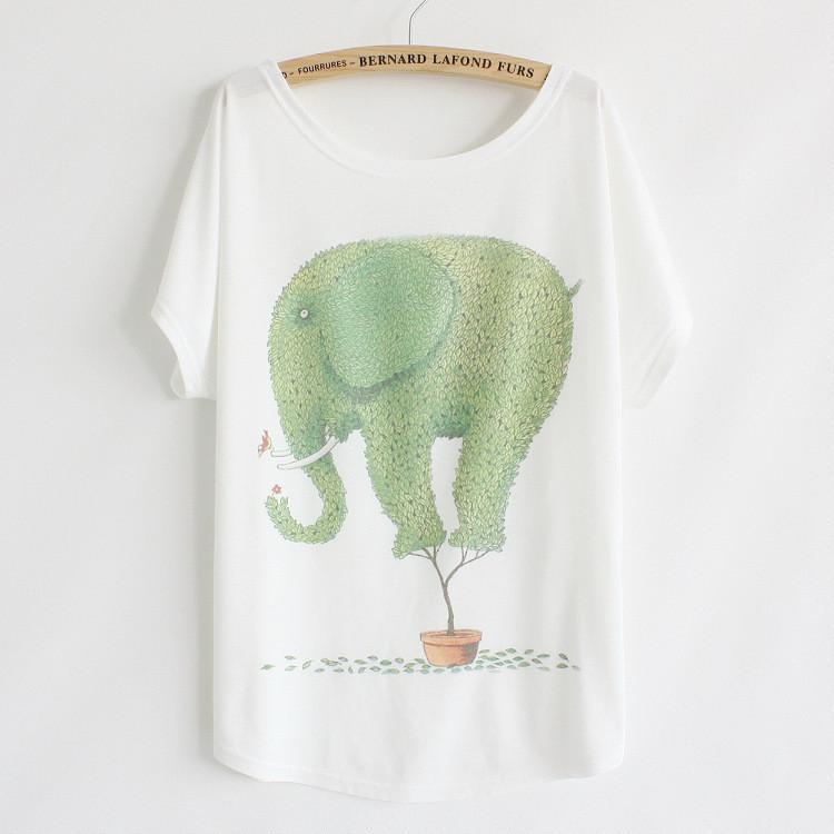 vintage elephant t-shirt