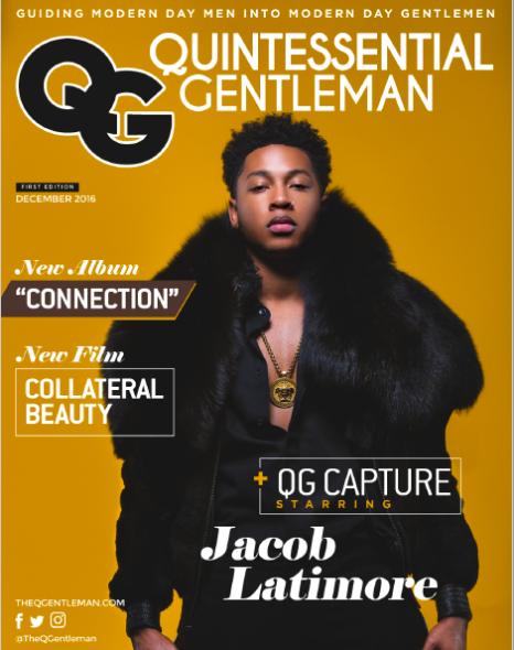 Jacob Latimore Covers the Inaugural 'QG Capture'