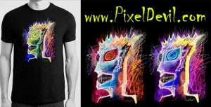 PixelDevil a unique and attractive graphic apparel brand