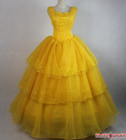 yellow dress beauty and the beast