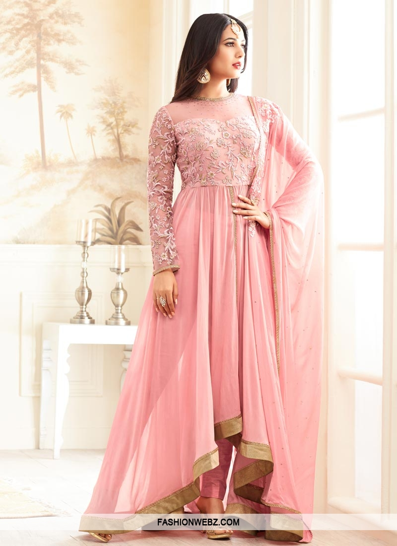 Asymmetrical salwar suits