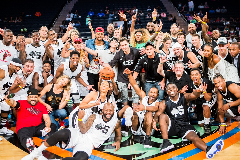 Thousands Including Big Names attend The Aces & Boom Cups Celebrity Basketball Game