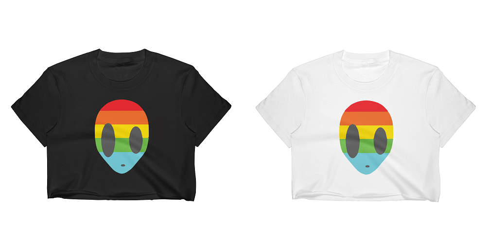 Make A Statement with The Gaylien T-Shirt