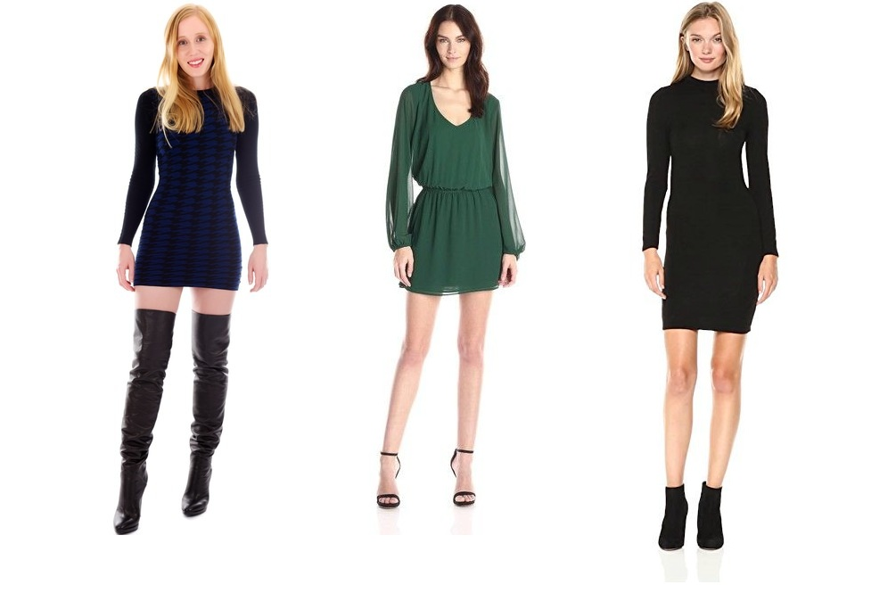 What Shoes to Wear with Long Sleeve Mini Dress