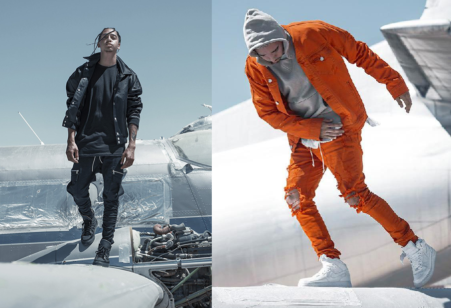Stylish aviation inspired luxury streetwear by Paraval