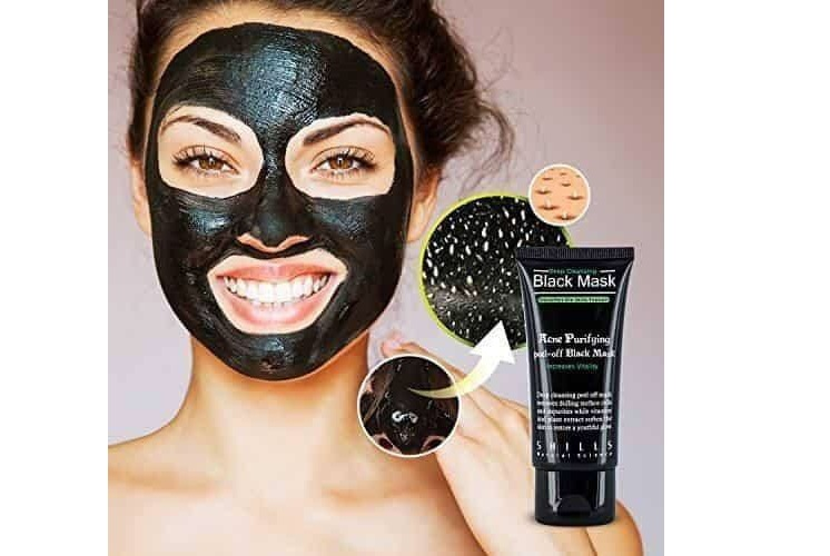 Getting rid of black heads with Purifying Peel-off Mask !