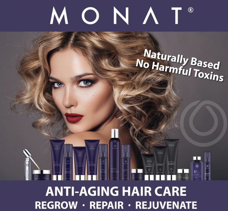 Give new life to your hair with MONAT Treatment Systems
