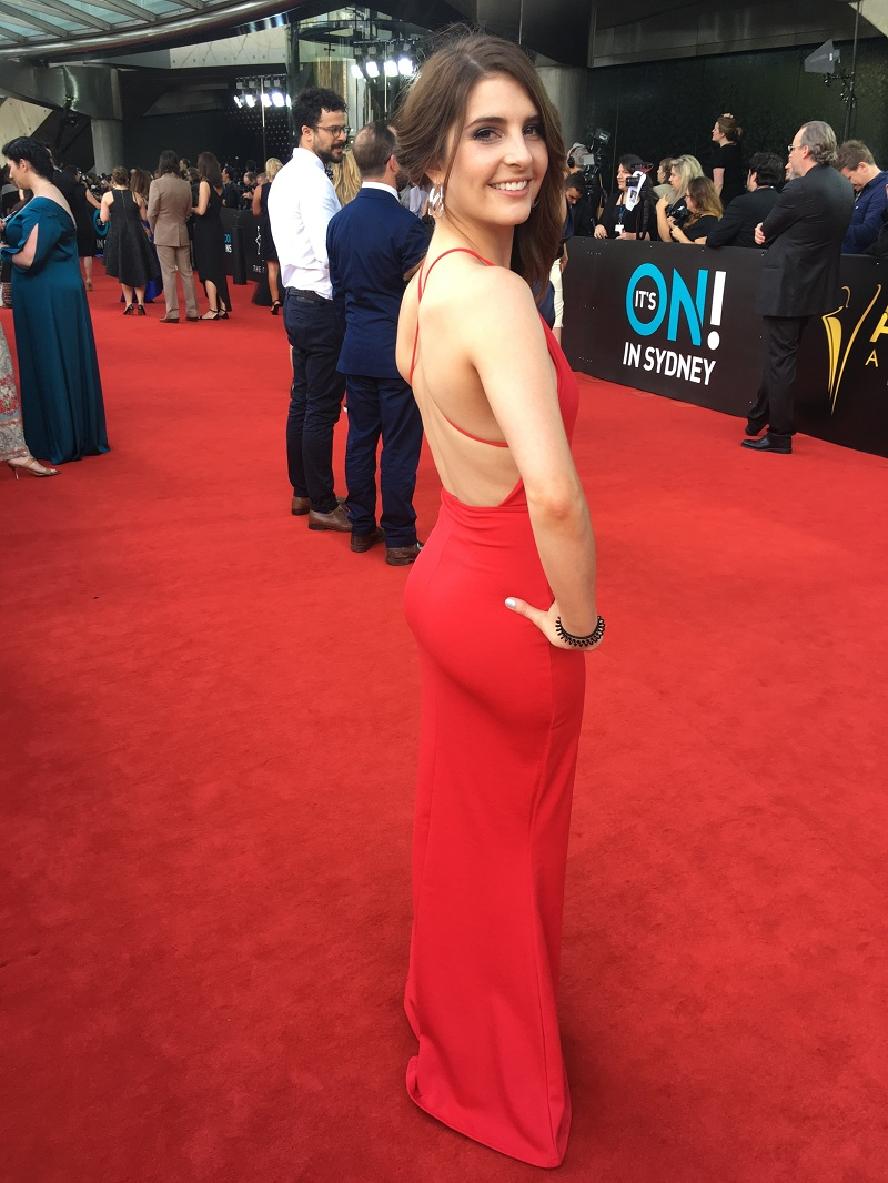 Nerida Bronwen at the 6th AACTA Awards in Sydney
