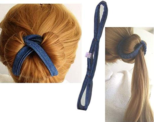 Easy and Comfortable Create Sophisticated Elegance Styles with Pro Hair Bun Maker Set