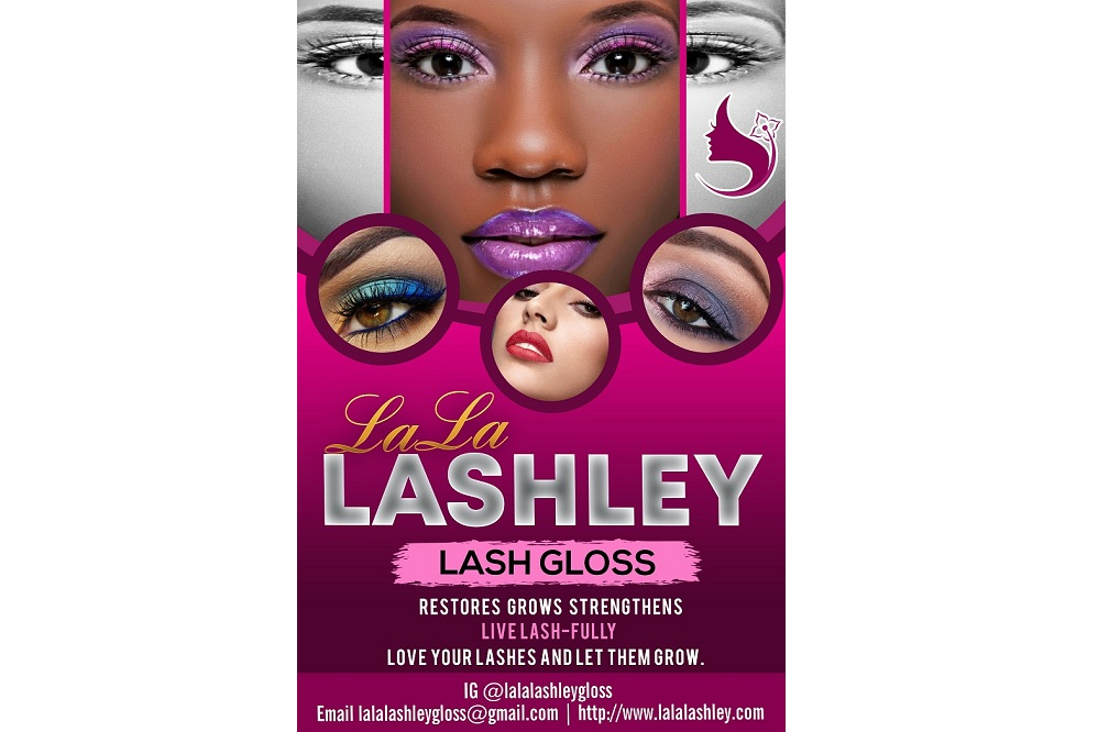 Beautify your lashes with LaLa Lashley lash gloss