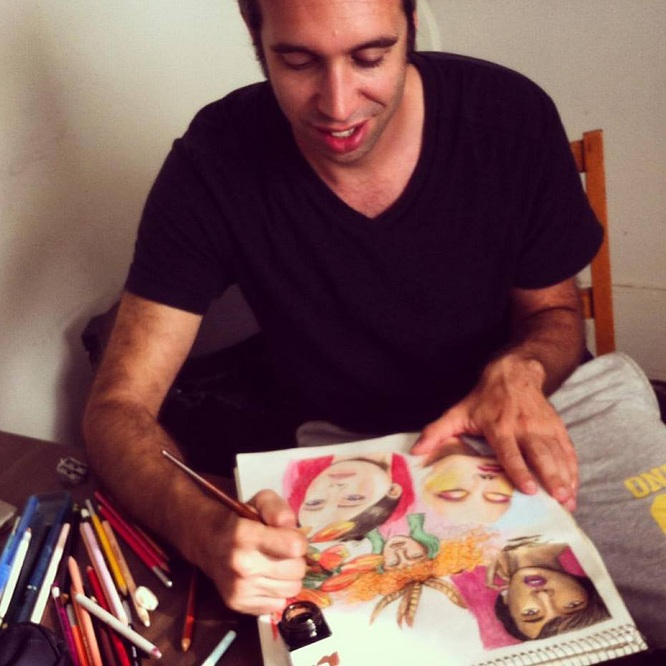 Interview with a multi-talented Italian artist Jacopo Manfren