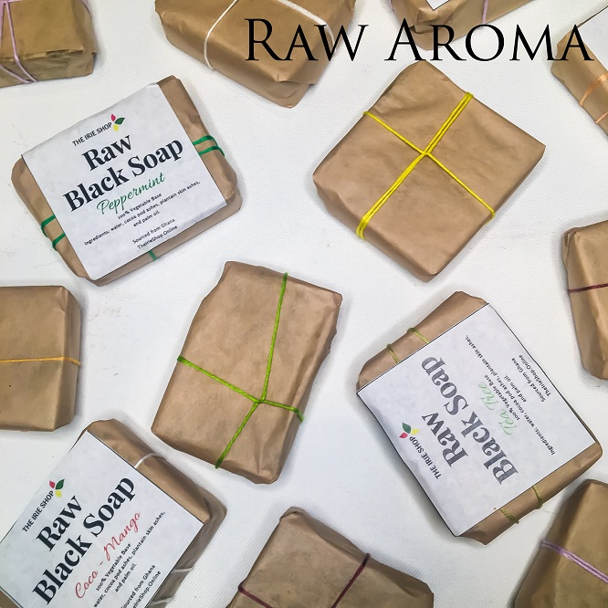 All natural Aromatherapy Infused African Black Soap