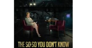 THE SO-SO YOU DON'T KNOW, a perfect dark comedy!