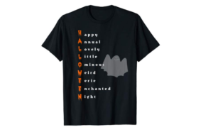 A Super Cool T-shirt For Halloween Lovers !