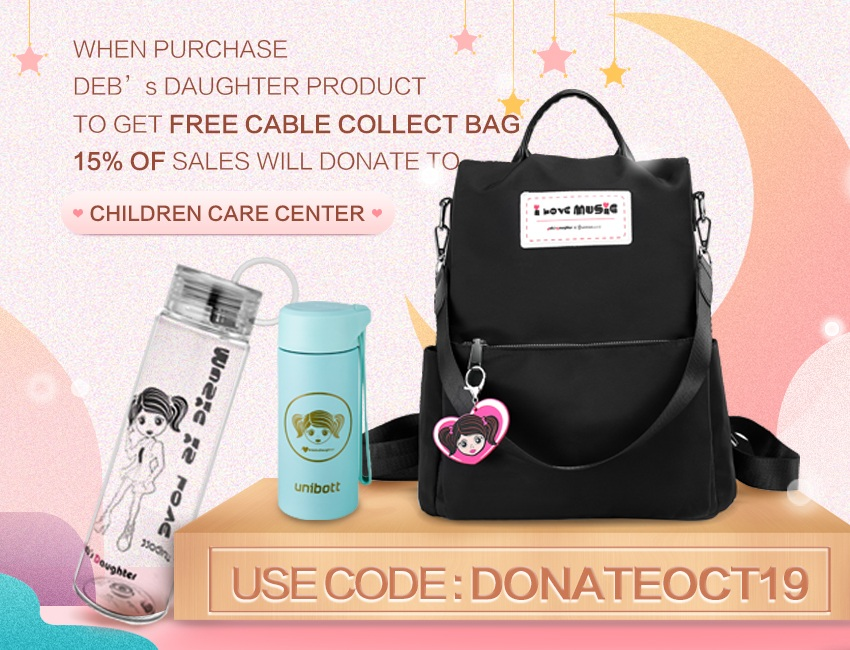EDM Artist Deb's Daughter launches some cool products !