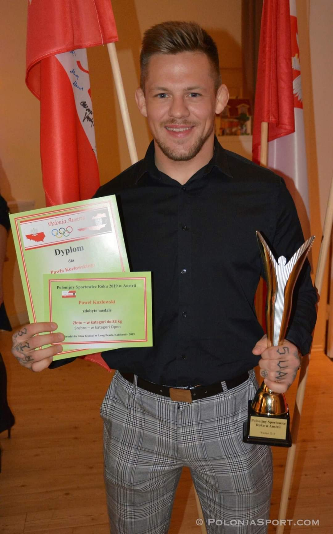 Interview with award winning mixed martial artist Pawel Kozlowski